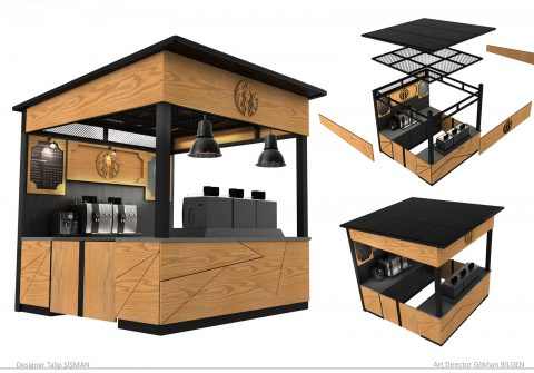 Mobil Cafe Stand